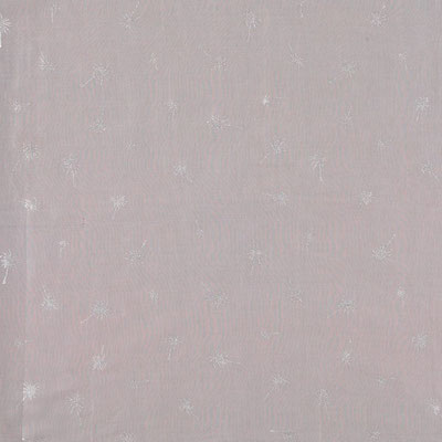 "Tuch quadratisch "" Palmenhain"", grey/silver, 105x105cm, 100% Cotton, 19,95€"