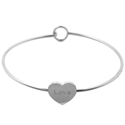 """Armreifen """"Skinny Love"""" silver 15€ 2 Größen erhältlich"""