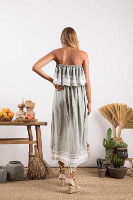 Dress Ibiza, fouta grey, 90% Baumwolle, 10% Lurex, in Gr XS/S und M/L,  82€