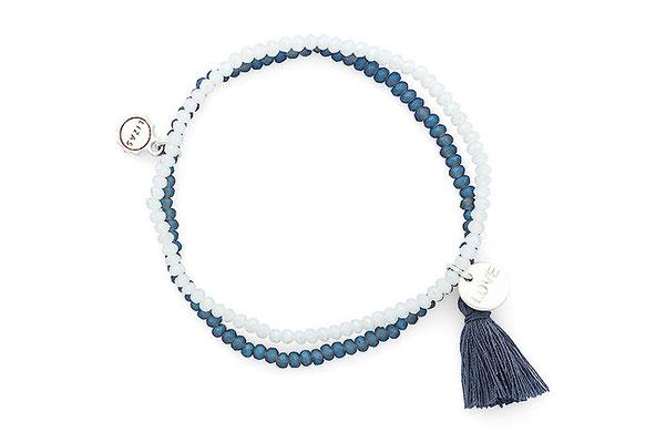"""Armband """"Blue Love"""" 16€"""