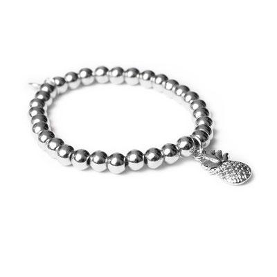 "Armband ""Pina"" silber, 19€"