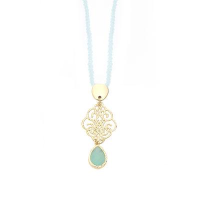 "Kette "" Arabesque Stone"", türkis 22€"