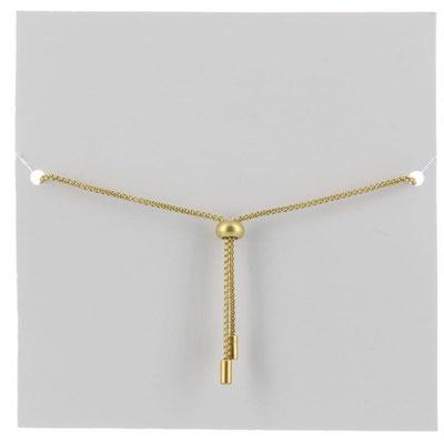 "Armband ""Ananas matt"", gold, 16€"