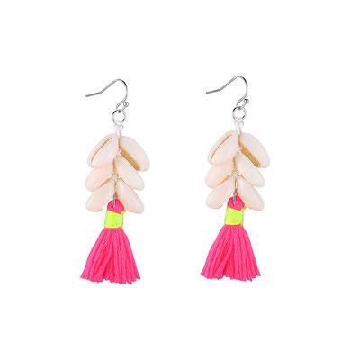 "Ohrringe ""Happy Shells"" pink 18€"