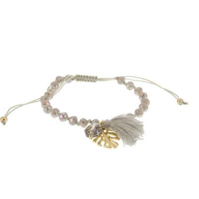 "Armband ""Dschungle Leaf"" grey, gold oder silber, 14€"
