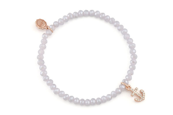 "Armband ""Diamond Anchor"", nude 16€"
