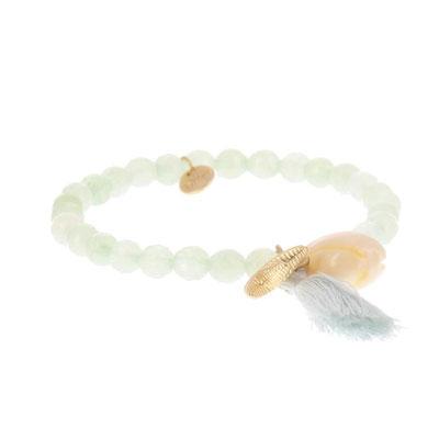"""Armband """" Meeresrauschen"""" lightblue 14€"""