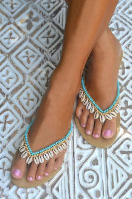 "Sandals ""Blue Lagoon"", in Gr 37   89€"
