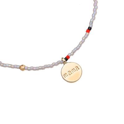 "Armband ""Lovely Mama"" grey 12€"