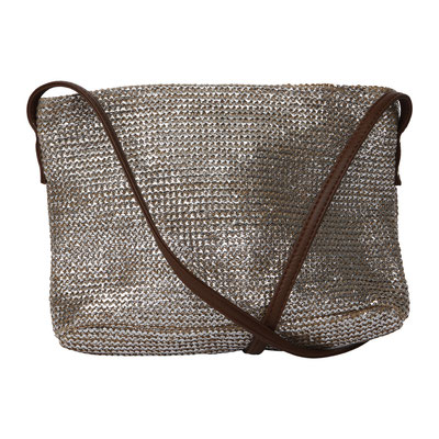 Shoulderbag Key West, brown/silber, 28,90€