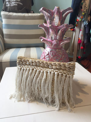 "Clutch ""Beachlife Fringes"", 39€"