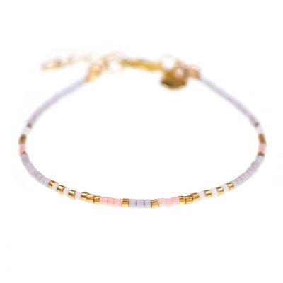 "Bracelet ""Delicate"" grey in silber (sold out)od rosegold 12€"