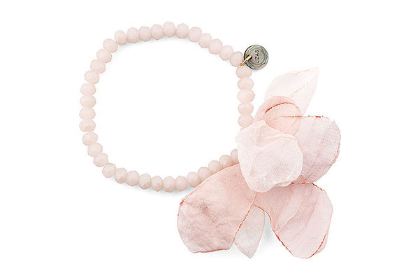 "Armband ""Blumenwiese"" rosa 19€"