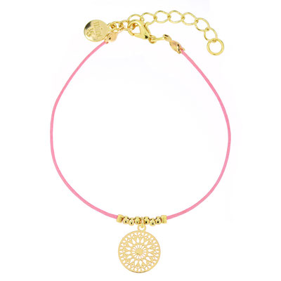 "Armband ""Boho Ornament"" pink, in silber od rosegold 14€"