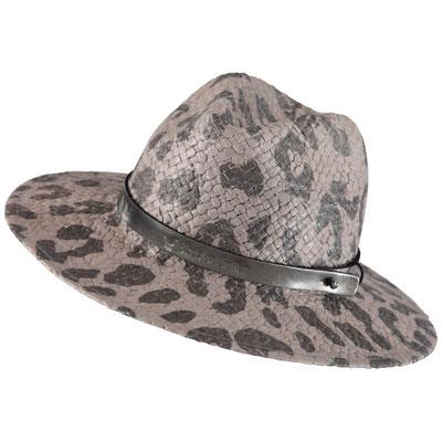 """Hut """"Leopard"""", schlamm, mit Hutband größenvertellbar, 100% Paper,   49,95€"""