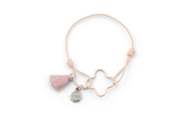"""Armband """"Pink Clover"""", 12€"""