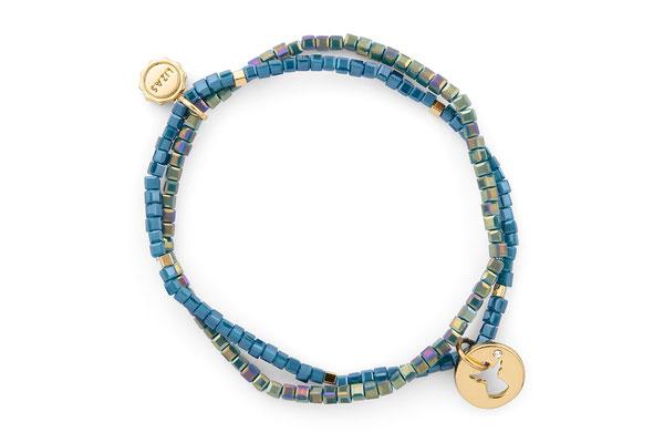 "Armband ""My Angel"" blue/gold 18€"