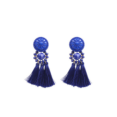 "Ohrringe ""Acapulco"" blue, 16€"