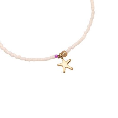 "Armband ""little Seastar"" white 12€"
