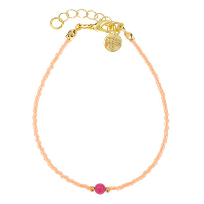 "Armband ""Candy"" orange, in silber od rosegold 12€"