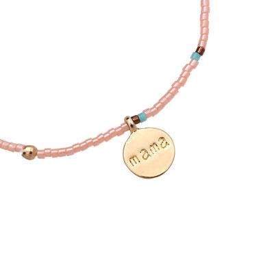 "Armband ""Lovely Mama"" soft pink 12€"