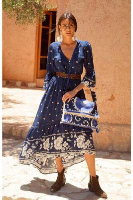 Dress Sascha, one size, 100% Viskose, navyblue, 145€