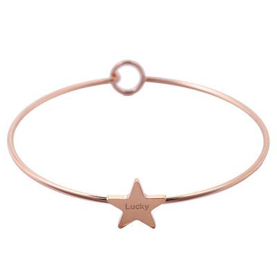 "Armreifen ""Skinny Star"" rose gold  15€ 2 Größen erhältlich"