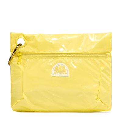 "Sundek Clutch ""soft yellow"", 22€"