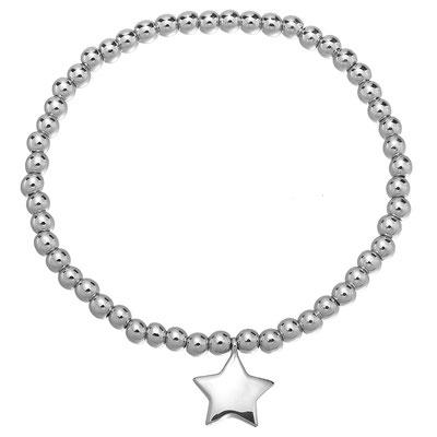 "Armband ""Silver Star"" 15€"