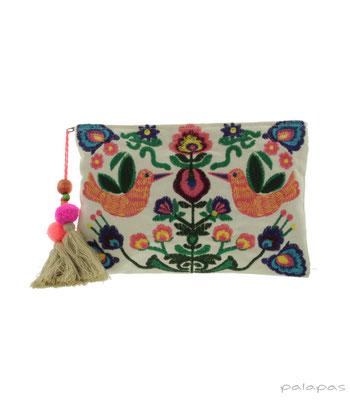 "Cltuch ""Birdslove"", 100% Cotton, 27cmx20cm,  34,95€"