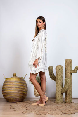 Dress Bobby silber in Size  M/L   149€
