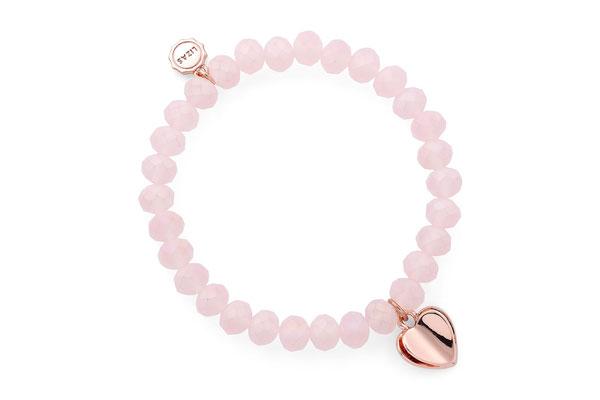 "Armband ""Valentinstag"" soft pink  16€"