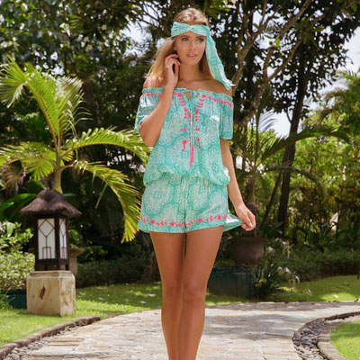 Combi Short Print mint 79€ also available in Print blue