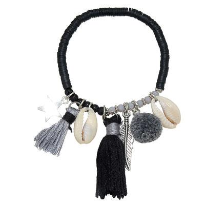 "Armband ""La Gomera"" black 19€"