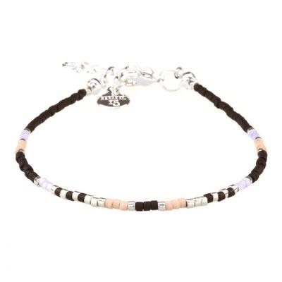 """Bracelet """"Delicate"""" black silber 12€"""