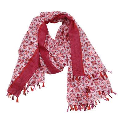 Schal Helena, pink/red, 27,90€