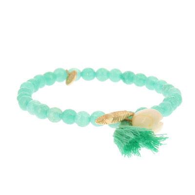 """Armband """" Meeresrauschen"""" green 14€"""
