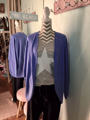 """Weste """"Snowflake"""", one size, blue 49,90€"""