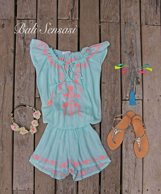 Combi Short  Aqua 69€ , available for Kids in Coral, 59€