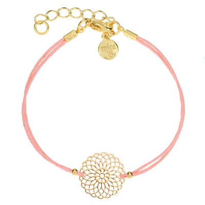 """Armband """"Boho Ornament"""" coral, in silber od rosegold 14€"""