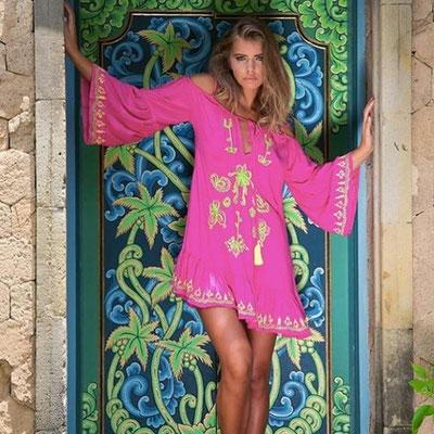 Dress Mohana Pink 89€ , available also in soft pink, grey, dark blue und mint!