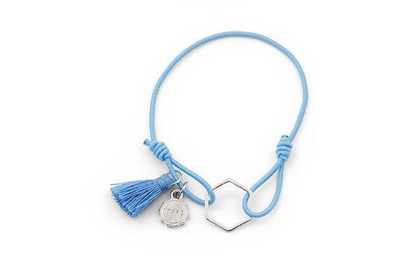 "Armband ""Blue Prisma"", 12€"