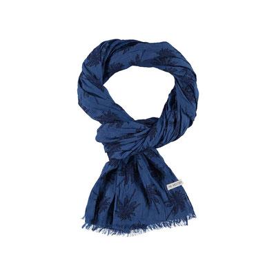 """Schal """"Palmtrees"""", blau, 100% Cotton, 24,95€"""