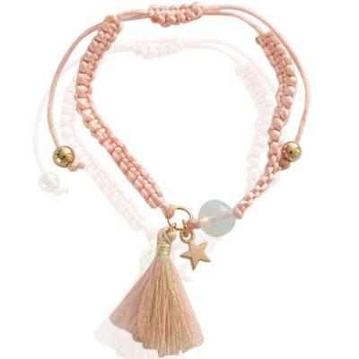 "Armband "" Sternthaler"" soft pink 16€"