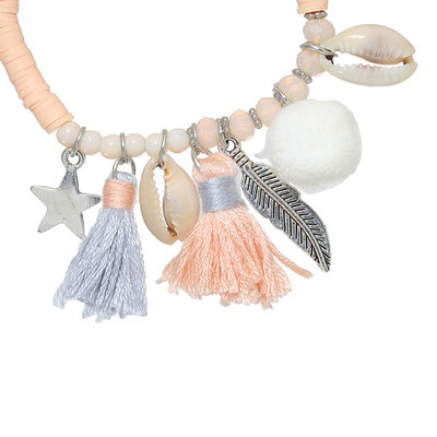 """Armband """"La Gomera"""" soft pink 19€"""