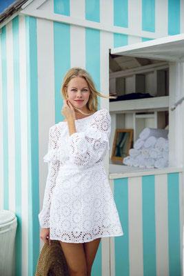 Dress Margherita erhältlich in black/multi pink in Size M 164€