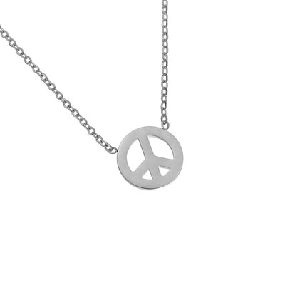 "Kette ""Peace"" silber 19€"
