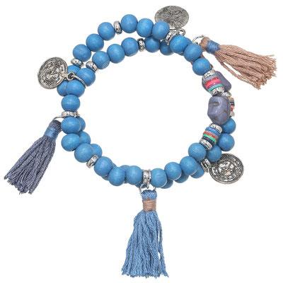 """Armband """" Deep Blue"""" 19€"""