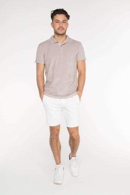 Terry Towel Poloshirt, platin, Gr S/M/L/XL  100% Cotton,  79,90€
