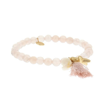 "Armband "" Meeresrauschen"" soft pink 14€"